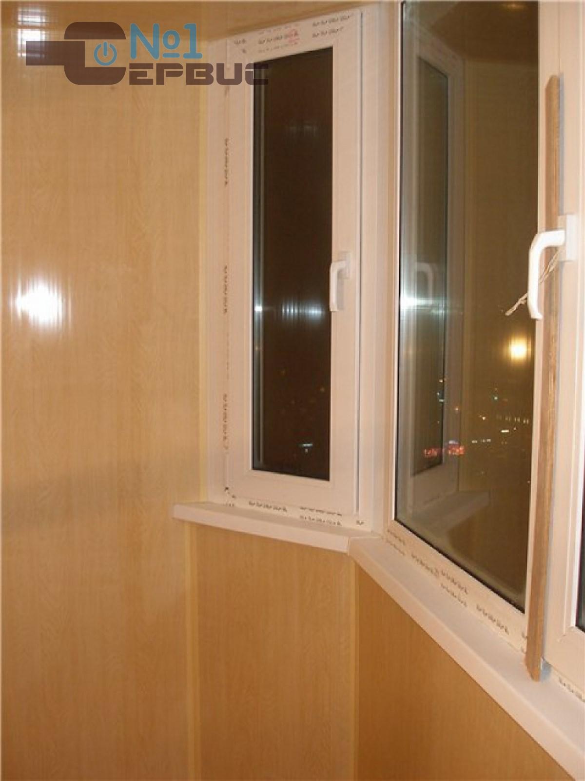 Пластиковые откосы. обшивка пластиком балконов, помещений..
